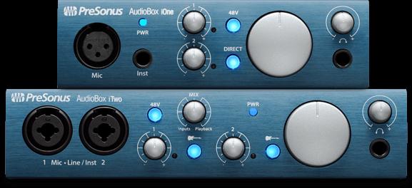 PreSonus『AudioBox iシリーズ』