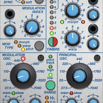 クリックしてBuchla 259e Twisted Waveform Generatorを表示