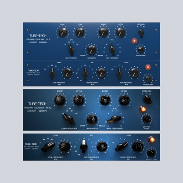 Click to show Tube-Tech Equalizer Collection