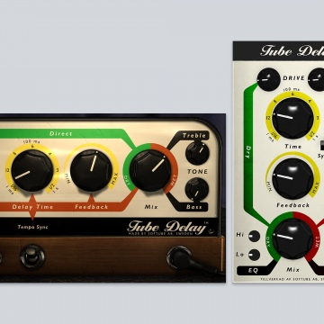 Click to show Tube Delay and Tube Delay For Modular