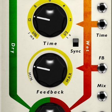 Click to show Tube Delay For Modular