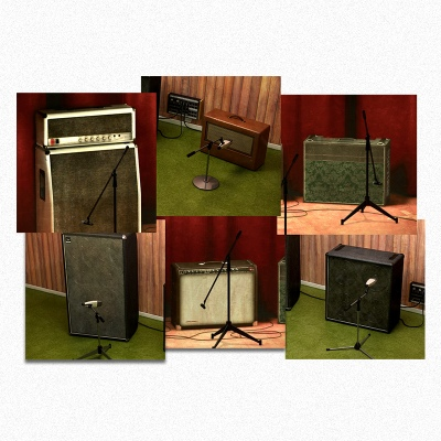 Vintage Amp Room & Bass Amp Room
