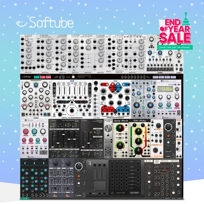 Softube Modularを6.700円で始める