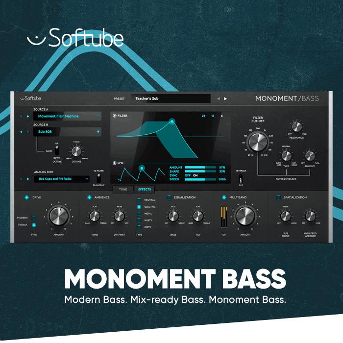 Monoment Bassをイントロ価格で購入する
