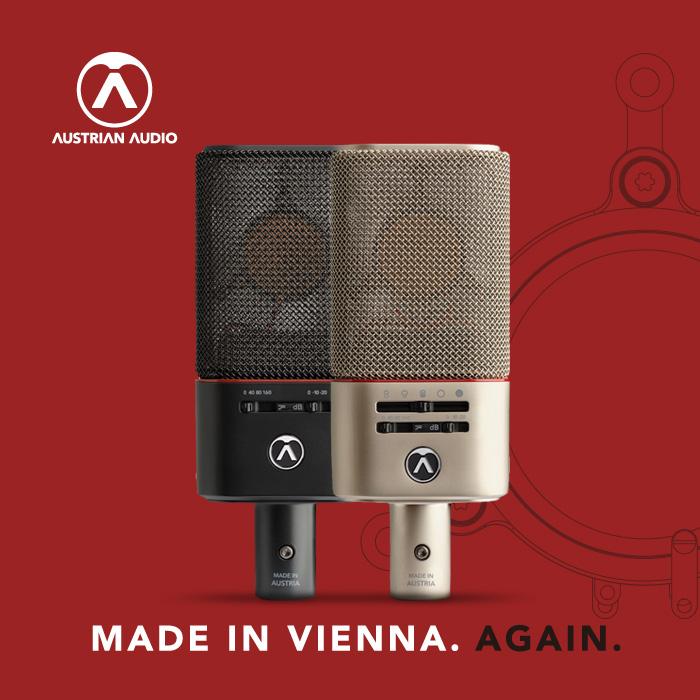 Austrian Audio日本語ポータルへアクセスする
