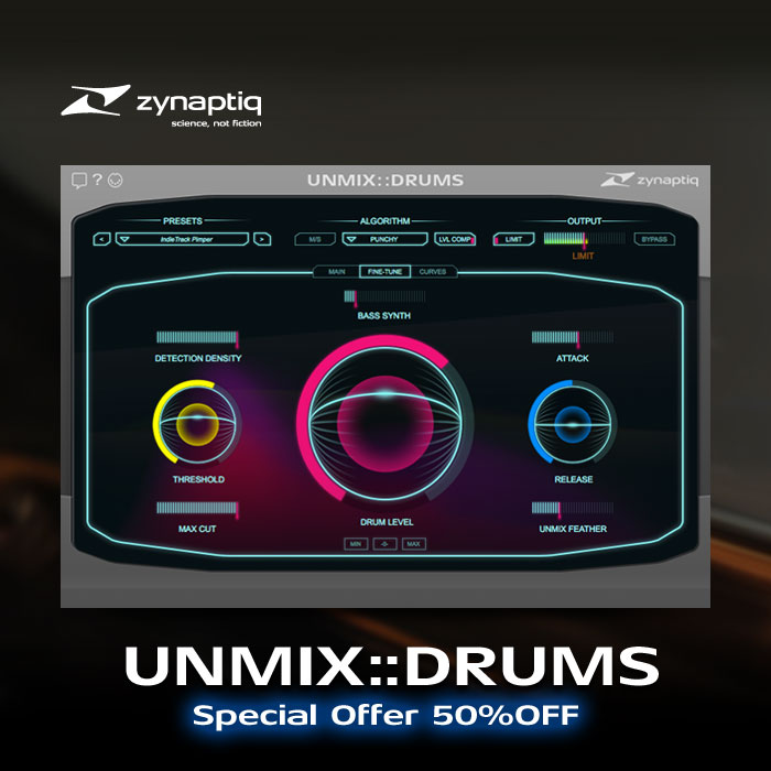 UNMIX::DRUMSを9,900円でGETする